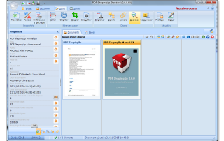 PDF editor [PDF ShapingUp 2.0.0.60, Dashboard]