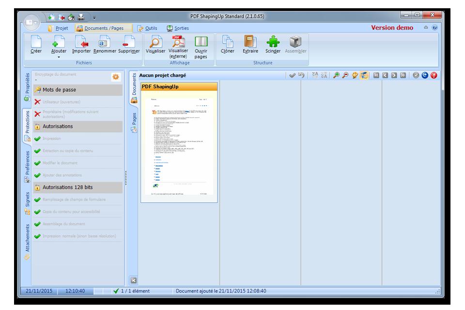 PDF editor [PDF ShapingUp 2.1.0.65, Unicode]