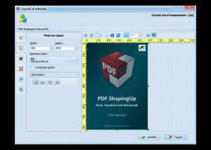 PDF editor [PDF ShapingUp Layout, Size]