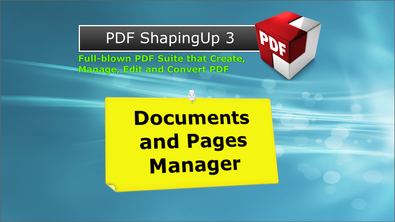 PDF editor [PDF ShapingUp Tutorial Documents_Pages_Manager EN]