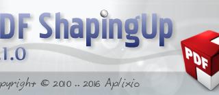 PDF ShapingUp 3.1.0, Editer des nouvelles annotations PDF