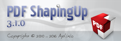 PDF ShapingUp 3.1.0, Edit New PDF Annotations (annotations PDF)