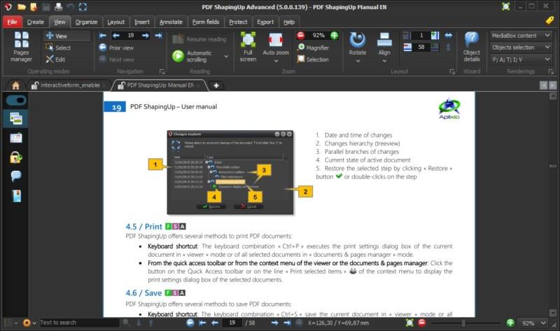efficient user interface design, nouvelle interface utilisateur